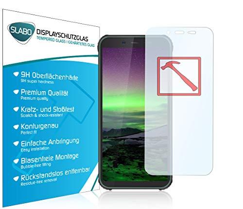 Slabo Lámina de Vidrio Premium para Blackview BV5500 | Plus (2020) | Pro Protectora Protector de Pantalla Templado Tempered Glass Claro dureza 9H