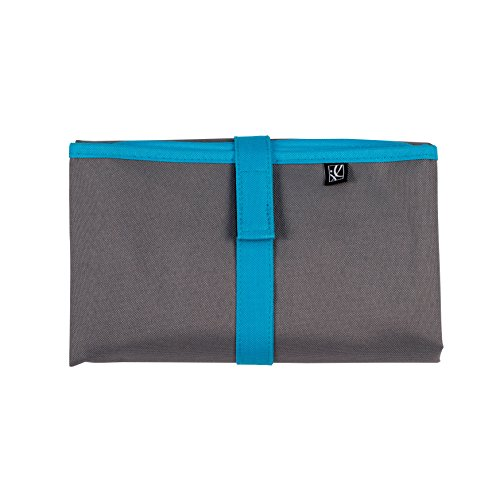 J.L. Childress Full Body Changing Pad, Grey/Teal