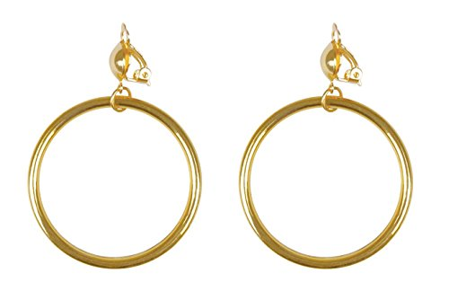Boland 81935 Pirate earrings, Gold, One Size