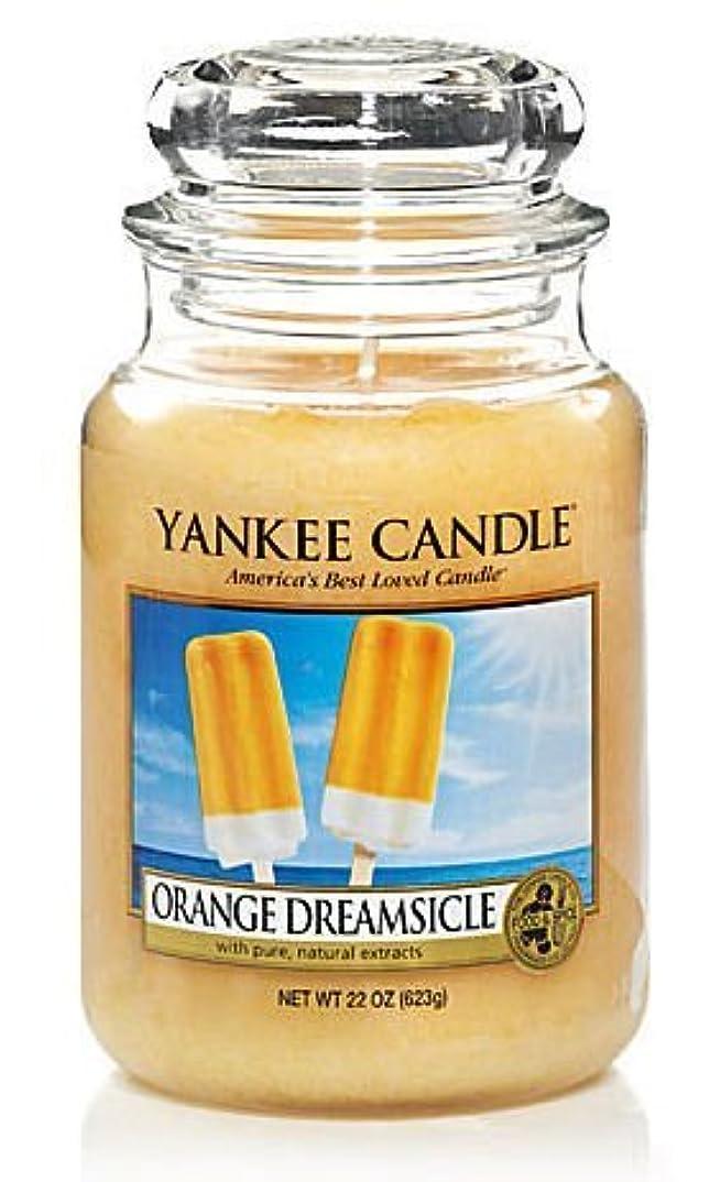 シェードインキュバス期待するYankee Candle Orange Dreamsicle Large Jar Candle, Food & Spice Scent by Yankee Candle [並行輸入品]