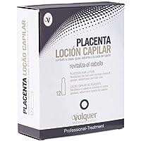 Válquer Placenta Loción Capilar - 12 Unidades x 15 ml.