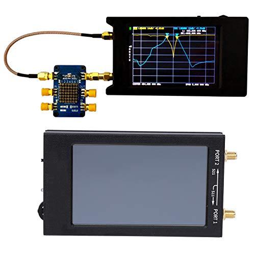 Analizador de redes vectoriales HF VHF UHF de onda corta 4.3in IPS TFT Pantalla LCD 50kHz-1500MHz Comunicación tipo C