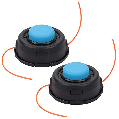 Milttor 2 Packs 531300183 Trimmer Head Fit Husqvarna T35 123 125 225 223 232 322 324 325 326 Engine 531300194 537388101 (10x1.25)