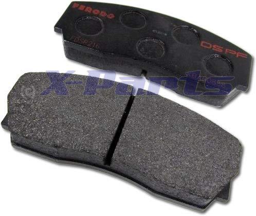 Plaquettes de frein Ferodo 1046008 pour système de freinage VMAXX 4 pistons DS Performance Rennsport