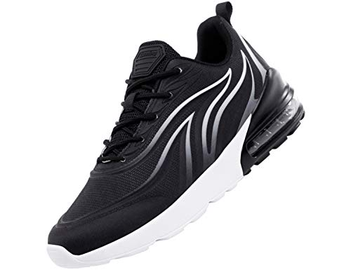 SINOES Damen Laufschuhe Atmungsaktiv Turnschuhe Schnürer Sportschuhe Sneaker