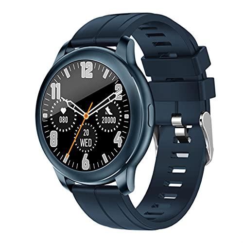 Smart Watch para teléfonos Android Llamada Bluetooth Monitor de frecuencia cardíaca Monitor de la presión arterial Pedómetro Calorie Distancia Mensaje Tiempo Notificación Smartwatch para mujeres hombr