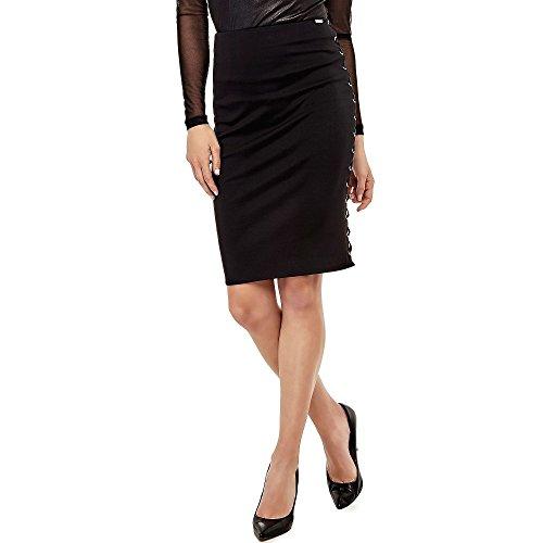 Guess Jewelry - Guessalejandra - Falda de Tubo - Jet Black (Ropa)