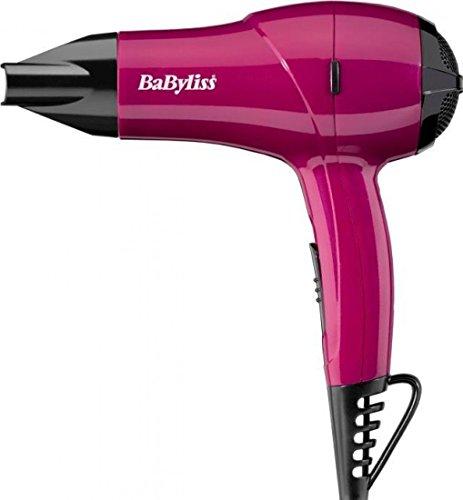 BaByliss Nano doble voltaje secador de pelo rosa 1200W–5282AU