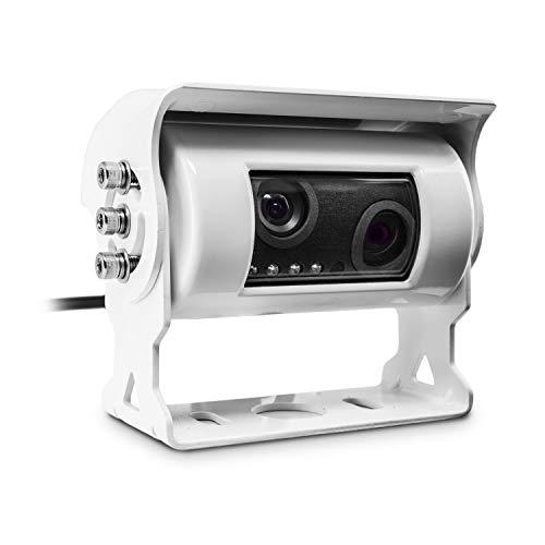 Carmedien Doppel Rückfahrkamera cm-DRFK3 Twin Rückfahr Kamera Doppelkamera für Wohnmobil