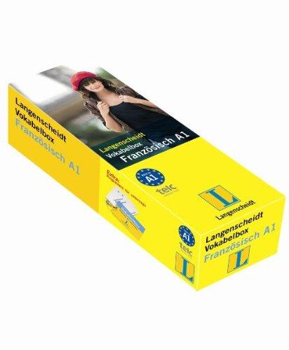 Langenscheidt Vokabelbox Französisch A1 - Box mit 800 Karten (Langenscheidt Vokabelbox A1)