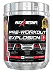 Pre Workout | Six Star PreWorkout Explosion | Pre Workout Powder for Men & Women | PreWorkout Energy Powder Drink Mix | Sports Nutrition Pre-Workout Products | Fruit Punch (30 Servings)