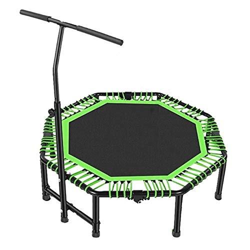 BRFDC Trampolin Fitness Estable con La Manija Plegable Hogar De Niños Adultos Thin Training Cubierta Sensorial For Bajar De Peso Trampolín