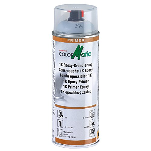 Colormatic 174414 Professional Grundierung CM 1K Epoxy, 400 ml, Grau