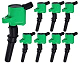 ENA Professional Pack of 8 Ignition Coils compatible with Ford Lincoln Mercury 4.6L 5.4L DG508 DG457 FD503