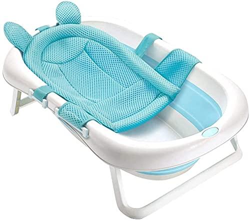 VIVOCC Bañera de bebé portátil para Viajar, Lavabo de Ducha Plegable para bañera para bebé baño bañera bañera pequeño bañera Azul Rosa (Color : C, tamaño : C)
