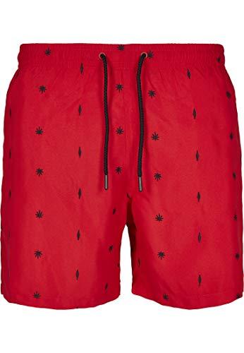 Urban Classics Embroidery Swim Shorts, Pantalones Cortos para Hombre