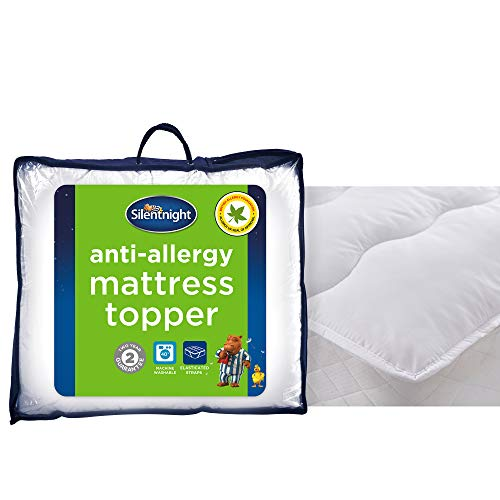 Silentnight Anti-Allergy Mattress Topper, Single