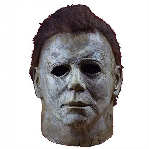 Halloween Maske Latex Terror Michael Myers Maske Adult Cosplay Vollgesichts Halloween Kostüm Party Requisiten Maske