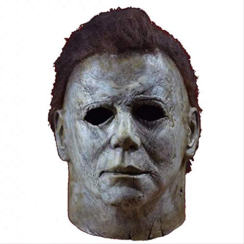 WSJPD Halloween Maske Latex Terror Michael Myers Maske Adult Cosplay Vollgesichts Halloween Kostüm Party Requisiten Maske