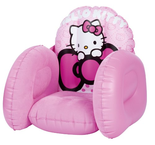 Worlds Apart 863471 Fauteuil Floqué Hello Kitty Rose