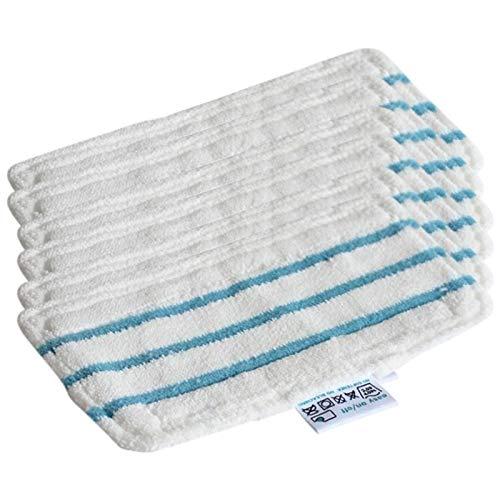 Heritan - Set di 6 panni di ricambio lavabili e riutilizzabili, per FSM1610 FSM1630