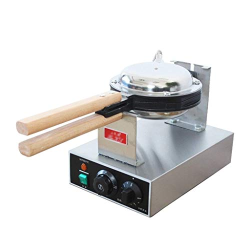 Hong Kong Bubble Waffle Maker Make Hong Kong Style Bubble Egg Waffle in 5 Minutes Panini and Toasted Sandwich Plates ice cream maker (Size : Style 2)