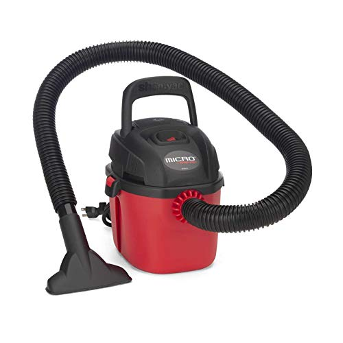 Shop-Vac 2021000 Micro Wet/Dry Vac Portable Compact Micro Vacuum with...