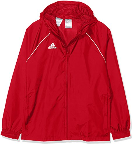 adidas CORE18 RN JKT Y, rot(power red/White), 140