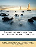 Annals of Archaeology and Anthropology, Volume 1