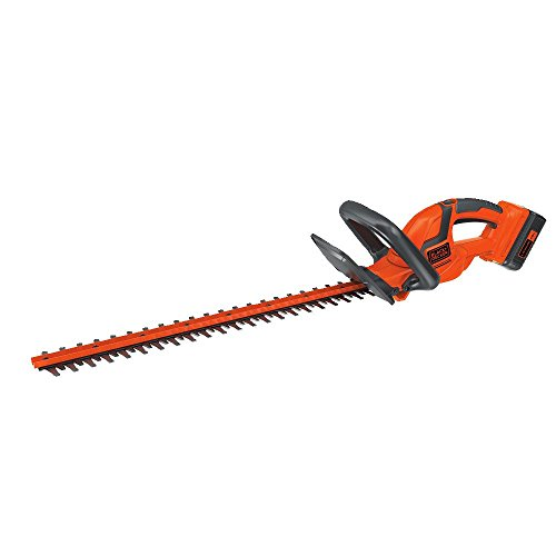 commercial BLACK + DECKER 40V MAX Cordless Brush Cutter 22inch (LHT2240CFF) hedge trimmers