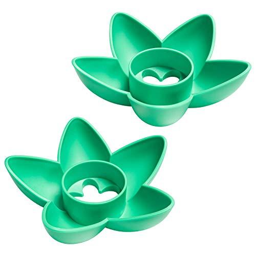Bol de plantation d'avocat MOSRACY 2 pièces- Cultivez vos propres avocats, cadeaux de jardinage pour les mamans et les amis, cadeaux d'anniversaire/petits cadeaux pour les copines (Pas de graines)