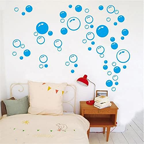 Wuixisajjh Diy Arte De Pared Niños Baño Baño Ducha Azulejo Decoración Extraíble Hogar Calcomanía Mural Pegatinas Decorativas Pegatina Burbujas