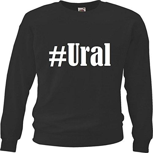 Reifen-Markt Sweatshirt #Ural Größe XL Farbe Schwarz Druck Weiss