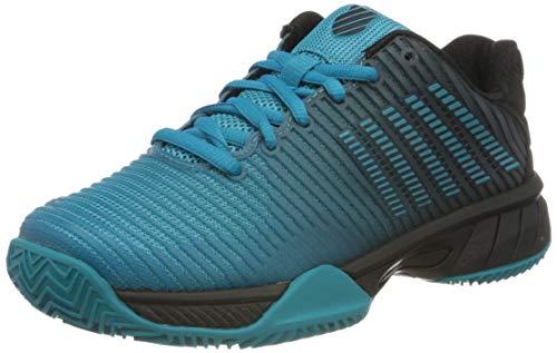 Dunlop Herren Hypercourt Express 2 HB Sneaker, Algiers Blue/Black, 44.5 EU