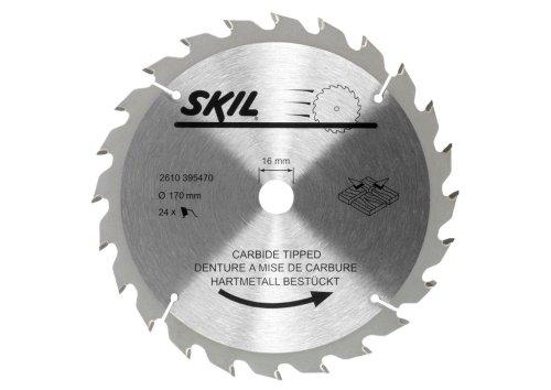 Skil 2610395470 Hartmetallbestücktes Kreissägeblatt 170mm für Skil 5155 / 5255