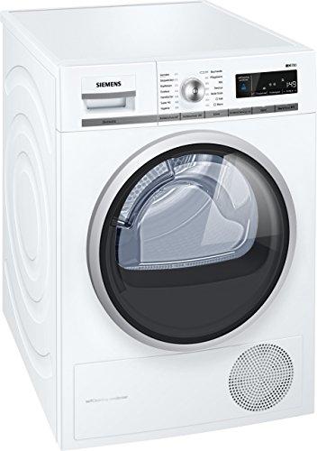 Siemens WT47W565 Wärmepumpentrockner/A++ / 8 kg/weiß/Großes Display mit Endezeitvorwahl