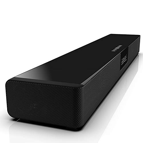 Soundbar (600 W Ausgangsleistung, NFC, Bluetooth, Dolby Digital, HDMI, USB, Optischer Digitaleingang Incl. Subwoofer Und Rear Lautsprecher) Schwarz,Schwarz