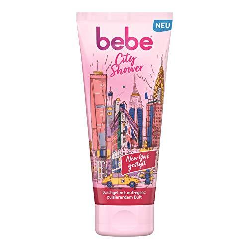 Bebe City Shower New York gestylt Duschgel mit aufregend pulsierendem Duft, verwöhnende Pflegedusche (1 x 200 ml)