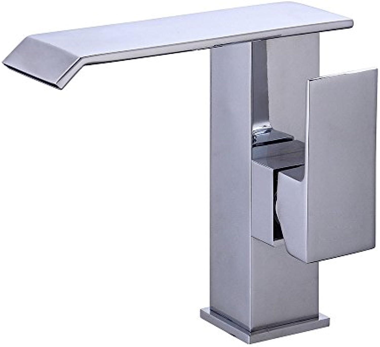 Badezimmerarmaturen Becken Wasserhahn,Europischer Kupferner Wasserfallhahn Heier Und Kalter Beckenhahn Retro Badezimmerwaschbeckenhahn