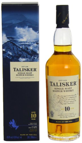 Talisker 10 Jahre, Single Malt Scotch Whisky, Isle of Skye, 0.2l