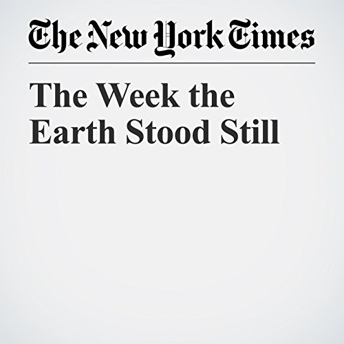 The Week the Earth Stood Still audiobook cover art