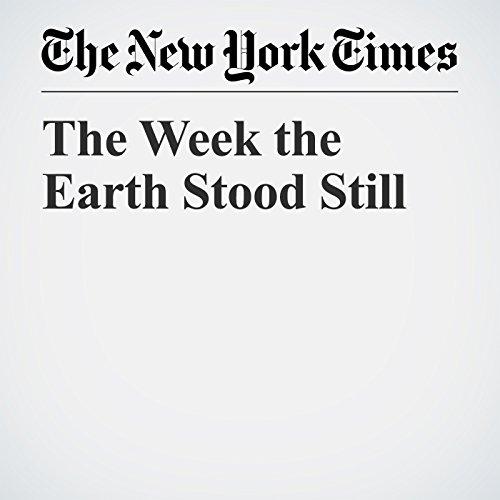 The Week the Earth Stood Still copertina