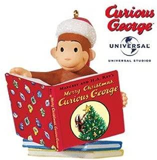 Merry Christmas Curious George 2010 Hallmark Ornament