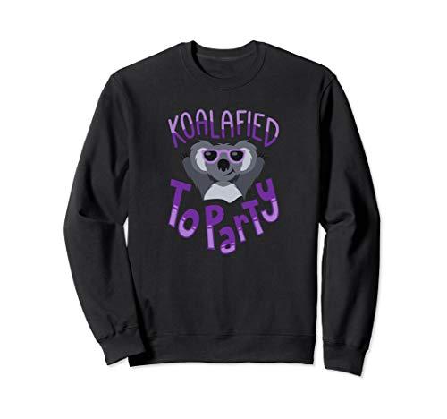 Funny Koalafied to Party - Dancing Koala Dabbing Animal Sweatshirt