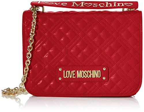 Love Moschino Jc4000pp1a, Borsa a Tracolla Donna, Rosso (Rosso), 9x20x27 cm (W x H x L)