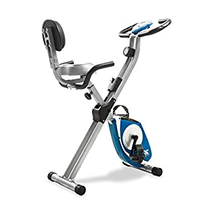 Fitness Equipment Shopping XTERRA Fitness FB350 Folding Exercise Bike, Silver