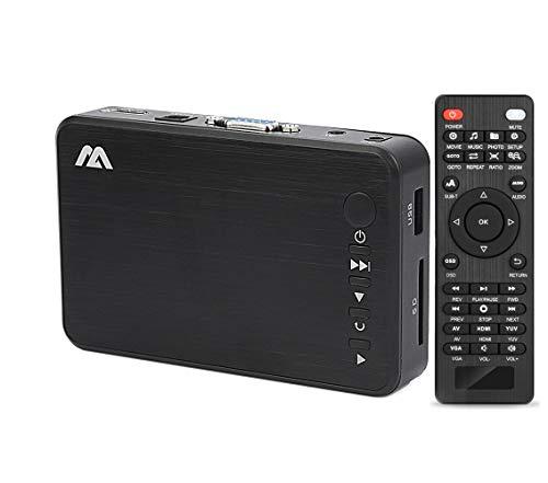 『多功能便携式媒体播放器 HDMI / VGA 输出 OTG USB / / SD / AV / 电视 / Avi 格式 / RMVB 全高清支持1080P 高清画质播放多种输出』のトップ画像