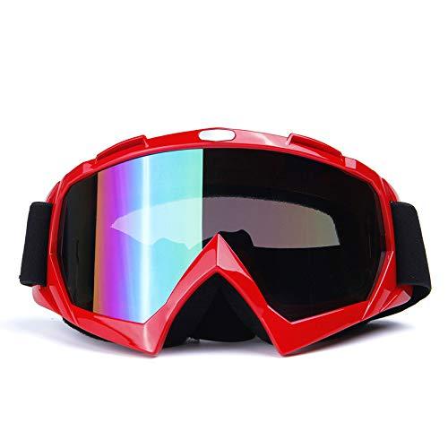 anruo Skibril dubbellaags anti-condens groot ski masker bril ski sneeuw snowboard skibril heren en dames skibril