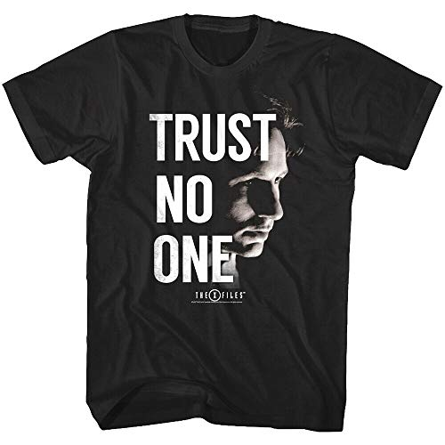 The X Files Agent Fox Mulder Trust No One Mens T Shirt FBI David Duchovny Scully
