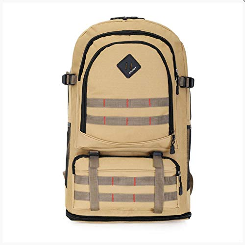 Outdoor Sports Backpack Mountaineering Bag 60L Expands Large-capacity Travel Bag Double-Shoulder Backpack Hiking Camping Bag (sac d'alpinisme sport en plein air 60L) étend son sac de randonnée à doubl